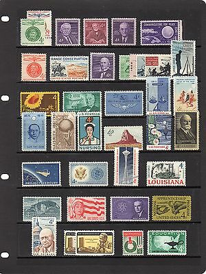 United States of America Collection 1960-1962 UM sg 1167-1205