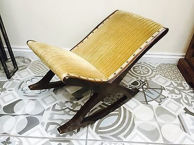 Vintage Children's Wooden Rocking Chair, Lovely, Collectible