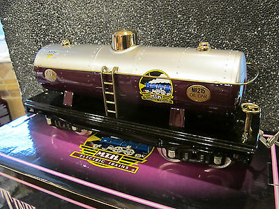 MTH 10-1127 Tinplate Traditions 200 Series Tank Car MTHRRC ~new in box~