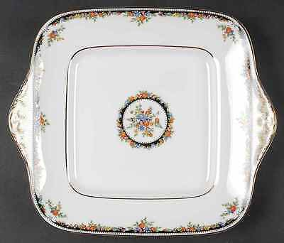 Plat carré WEDGWOOD Square Handled Cake Plate