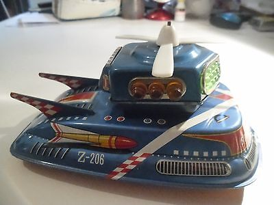 rare 1960s tinplate flash space patrol,by TPS