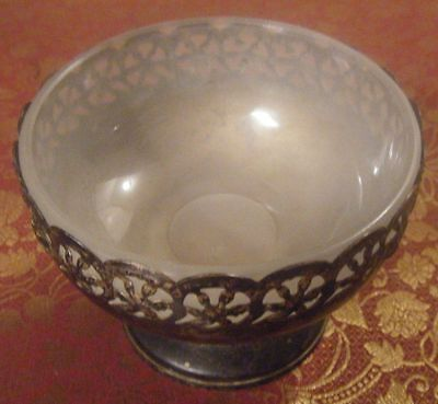 Vintage Silverplate 2 Piece CELTIC QUALITY Footed Bowl  Made in England