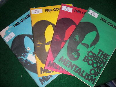 Phil Goldstein AKA Max Maven - Red, Blue, reen Yellow Color Series of Mentalism