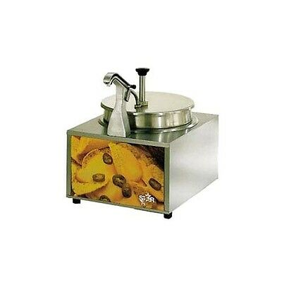 Star Mfg. Lighted 11 Qt Cheese Warmer w/ Pump and Heated Spout