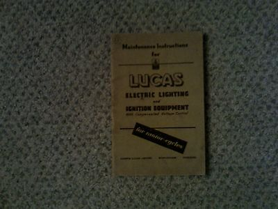Lucas Lighting and Ignition Equipment for Motor-Cycles