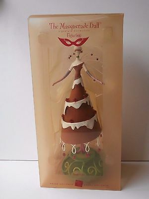 "Russ Masquerade Ball ""Ginger Kake"" Signature Collection 14"" Christmas Figurine"