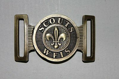 BUCKLE wfis messisco scout