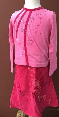 BNWT Girls Beautiful 2 Piece Outfit By CHILLIFUEGO (2-3 Yrs) *FREE UK P&P*