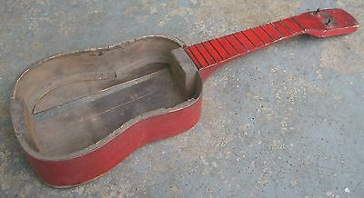 1950s Regal Harmony Ukulele. Soprano. Luthier's Challenge! Repair Project.
