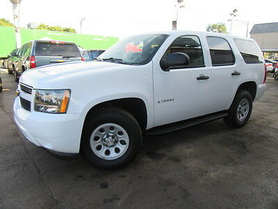 2008 Chevrolet Tahoe  White 4X4 LS Only 40k Miles 6 Pass Tow Pkg Ex Fed Govt Admin Well Maintained