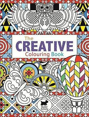 The Creative Colouring Book (Buster Activity),  | Paperback Book | 9781780551685