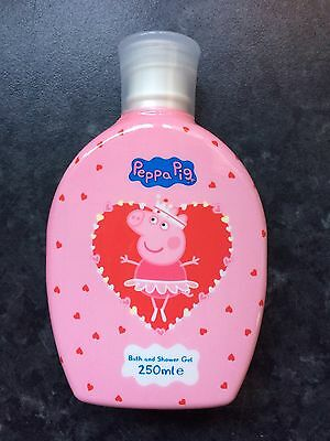 Peppa Pig Bath And Shower Gel Ideal Stocking Filler