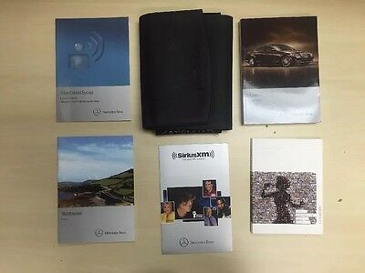 Mercedes Benz S 500 s550 Class 2011 Owners Manual Books //Case /Free  Shipping