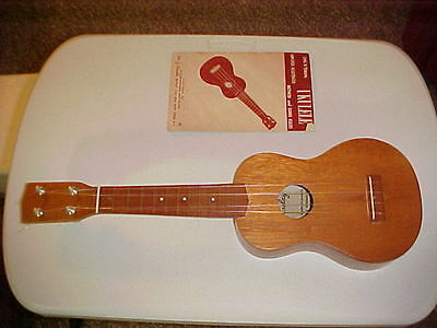 Nice Barday Ukulele with case and sing 'N' strum booklet