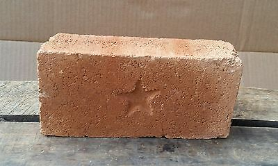 "Antique Texas ""Lone Star"" Brick Lone Star Press Brick Co Ferris Tx"