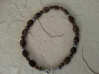 Carolyn Pollack Relios Wild Horse 925 Sterling Silver Pietersite Necklace