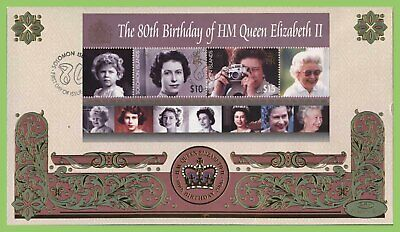 Solomon Islands 2006 QEII 80th Birthday M/S on First Day Cover