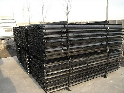 Star Picket/Black Bitumen Coated