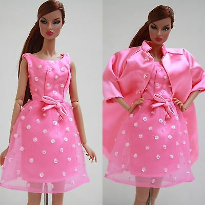 Fashion Royalty Only Dress Nu Face Barbie Silkst