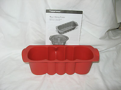 Tupperware Silicone Magic Baking Loaf Form - NEW - never used