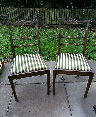 Vintage/antique? dining chairs x2