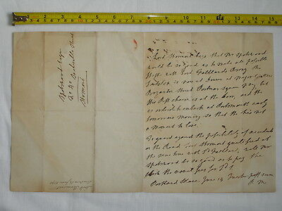 Original old letter-London 1790-Lord Stormont to Spottswood Esq.