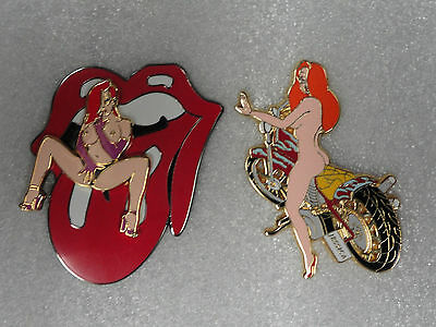 Adult Jessica Rabbit Pins - Naughty Jessica - Lot Of 2