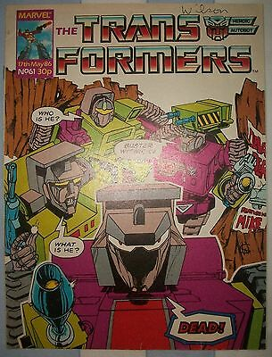 Transformers UK Comic Issue 61 May 1986 Devastation Derby Part 1