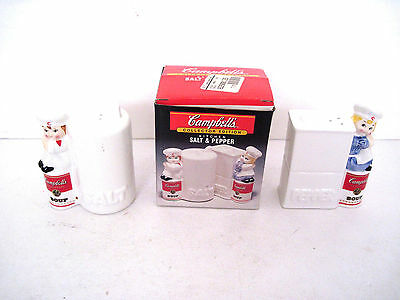Campbell's Soup Collector Edition Kitchen Salt & Pepper Shakers   Nib