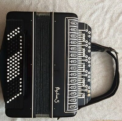 Accordion Russian Converter Free Bass & Stradella Rubin 5 Russian Button  Bayan