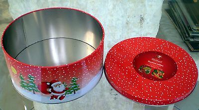 Christmas- Biscuit /Cake/Sweets/Ginger Bread- Tin Storage Container collectable