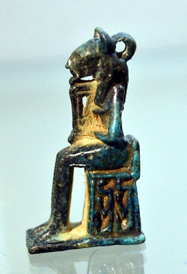 Ancient Egyptian Amulet Of Bastet