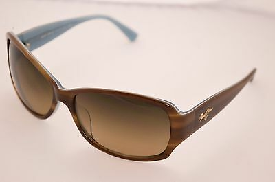 DISPLAY MODEL Maui Jim MJ-295-03T Nalani Tortoise Blue HCL Bronze Lens MauiPure