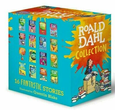 New Roald Dahl Collection Phizz Whizzing 15 Classic Story Books Box Set Free Pos