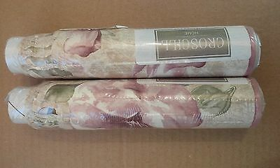 Croscill Home Concerto Wall Paper Border 2 Rolls (5 Yards Each) ~ New ~Free Ship