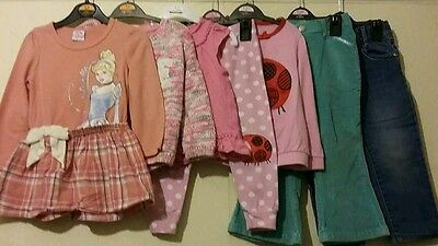 Girl's clothes Bundle Age 2-3 Years