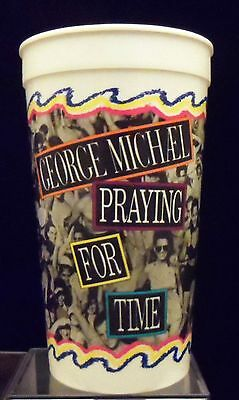 "1991 Taco Bell/Pepsi George Michael ""Praying for Time"" Beverage Cup - REDUCED!"