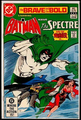 DC Comics The BRAVE And The BOLD #199 BATMAN vs The SPECTRE FN/VFN 7.0