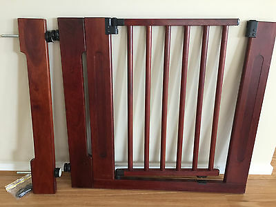 Solid Timber Baby, Toddler Or Pet Safety Gate
