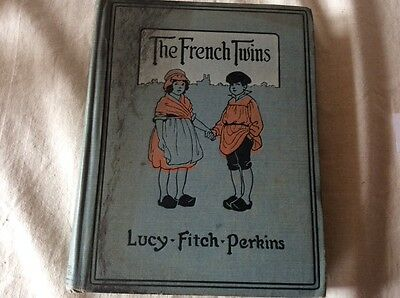 The FRENCH TWINS by Lucy- Fitch - Perkins 1919