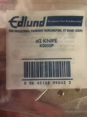 Knife Genuine Edlund K005SP #2 Knife for No. 2 Can Opener New Free Shipping