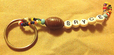 Boys Or Men's Personalized Keychain Or Zipper Pull With The Name Bryce-New