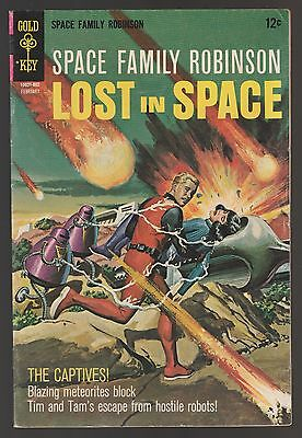 Space Family Robinson LOST IN SPACE #26 Gold Key Comics Feb 1968