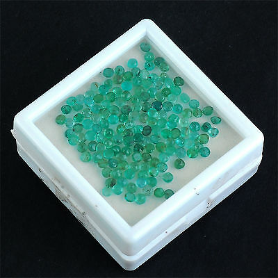 16.37 Cts/153 Pcs Untreated Natural Colombian Emerald Wholesale Gemstones Lot