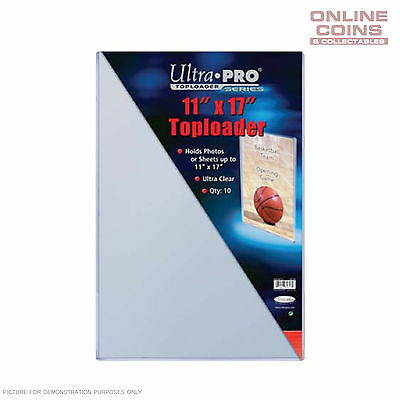 """Ultra Pro Specialty Series Toploader 11"""" x 17 Comic Magazine Documents - 1 ONLY"""