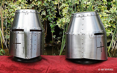 Casque Medieval - Grand Heaume