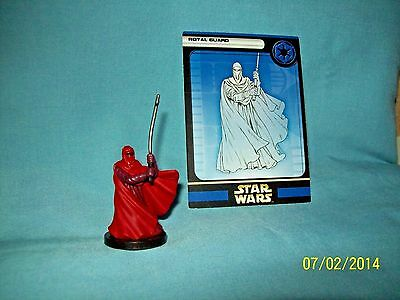 WotC Star Wars Miniatures Royal Guard, Rebel Storm 32/60, Empire, Uncommon