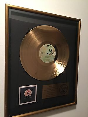 Queen Riaa A Day At The Races Gold Record Award- Original Award From The 70's