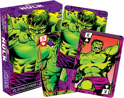Marvel- Hulk Comics Playing Cards Deck - Misc