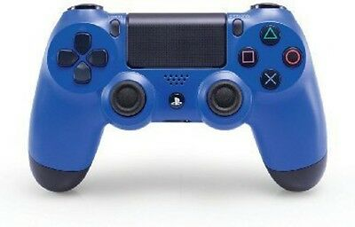 Sony DualShock 4 Controller: Wave Blue for PlayStation 4 - Games